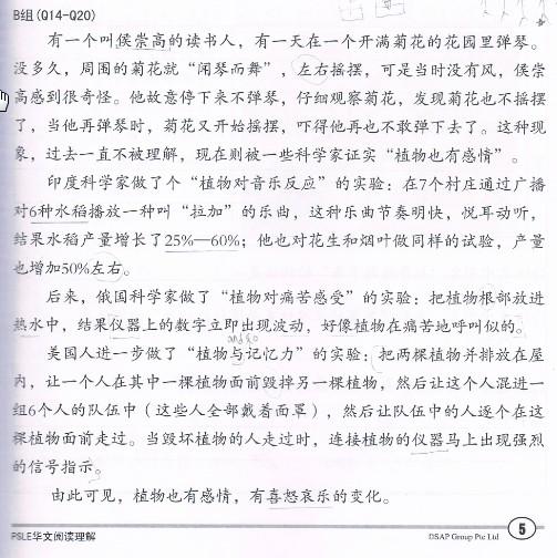 psle chinese reading comprehension joyful. Black Bedroom Furniture Sets. Home Design Ideas
